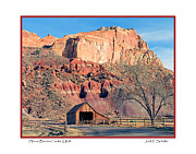 Horse Barn Photos - Horse Barn in Fruita Utah by Jack Schultz