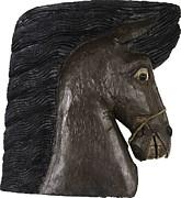 Horse Head Print by Kurt Olson