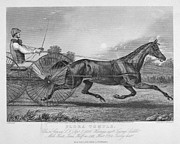 Buggy Whip Posters - Horse Racing, 1857 Poster by Granger