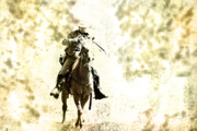 Re-enactor Prints - Horseman Print by Kim Henderson
