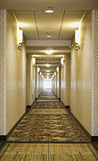 The Pathway Photos - Hotel Corridor by Dave & Les Jacobs