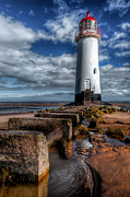Talacre. Landmark Prints - House of Light Print by Adrian Evans