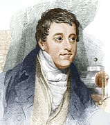 European Artwork Prints - Humphry Davy, English Chemist Print by Sheila Terry