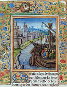 Chronicles Posters - Hundred Years War, 1337-1453 Poster by Photo Researchers