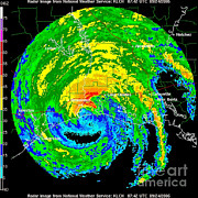 Data Photos - Hurricane Rita, Wfo Radar, 2005 by Science Source