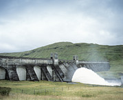 Hydroelectric Prints - Hydroelectric Dam Print by Adam Gault