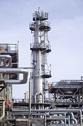 Esso Photos - Hydrofiner At An Oil Refinery by Paul Rapson