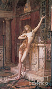 Christian Artwork Photos - Hypatia Of Alexandria, Mathematician by Science Source