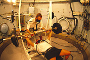 Sporting Equipment Prints - Hyperbaric Training Research Print by Alexis Rosenfeld