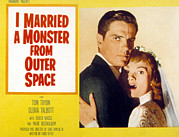 1950s Movies Acrylic Prints - I Married A Monster From Outer Space Acrylic Print by Everett