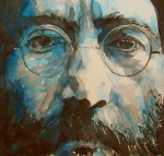 John Lennon Painting Metal Prints - I was the Dreamweaver Metal Print by Paul Lovering