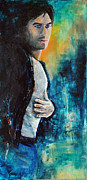 Portrait Painting Originals - Ian by Francoise Dugourd-Caput