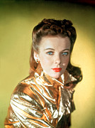 Gold Jacket Posters - Ida Lupino Poster by Everett