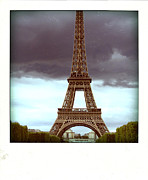 Landmarks Acrylic Prints - Illustration of Eiffel Tower Acrylic Print by Bernard Jaubert