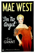Postv Photo Metal Prints - Im No Angel, Mae West, 1933 Metal Print by Everett