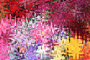 Digital Abstracts Prints - Imagine the Possibilities Print by Carol Groenen