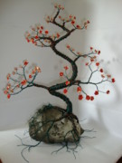 Tree Roots Sculpture Originals - In Bloom by Scott Faucett