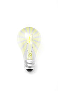 Saving Prints - Incandescent Light Bulb Print by Marius Sipa