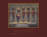 Pixquik Paintings - Incognito by Leonard Filgate