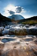 Glen Etive Photos - Incongruence  by Max Blinkhorn