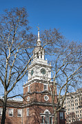 National Historic District Posters - Independence Hall Poster by John Greim