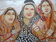 Indian Tribal Women Print by Anand Swaroop Manchiraju