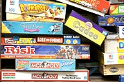 Board Game Photo Metal Prints - Indoor Games Metal Print by Johnny Greig