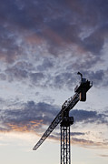 Industrial Crane Print by Jeremy Woodhouse
