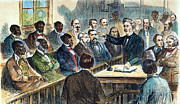 Trial Framed Prints - Integrated Jury, 1867 Framed Print by Granger