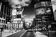 Intersection Of Yonge And Dundas At Yonge-dundas Square Toronto Ontario Canada Print by Joe Fox