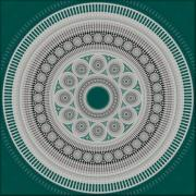 Disc Posters - Intricacy Poster by Lyle Hatch