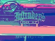 Intruders Car Club Print by Chuck Re