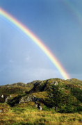 Rainbow Photo Posters - Irish Rainbow Poster by John Greim