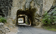 Tunnels Framed Prints - Iron Mountian Road Framed Print by Wilma  Birdwell