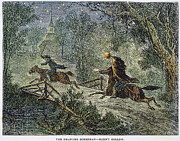 Irving: Sleepy Hollow Print by Granger