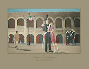 Police Paintings - Italian Carabinieri by James Robinson
