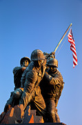 Raise Prints - Iwo Jima Memorial Print by Brian Jannsen