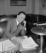 Bureau Prints - J. Edgar Hoover 1895-1972, As Director Print by Everett