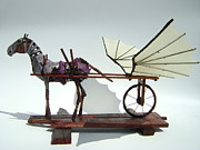 Wheels Sculptures - Jabber Box by Jim Casey
