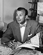 1950s Portraits Metal Prints - Jack Paar 1918-2004, American Metal Print by Everett
