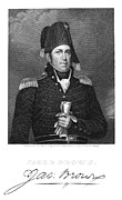 U.s Army Prints - Jacob Jennings Brown Print by Granger