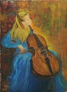 Died Originals - Jacqueline Du-Pre  by Rachel Asherovitz