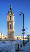 Jaffa Photos - Jaffa Clock Tower by Noam Armonn