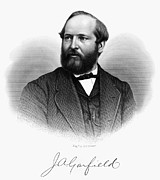 James A. Garfield (1831-1881) Print by Granger