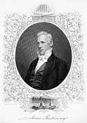Democrat Prints - James Buchanan (1791-1968) Print by Granger