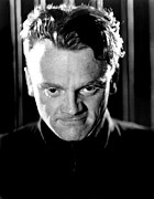 Colbw Framed Prints - James Cagney Framed Print by Everett