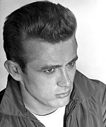 Dean Photos - James Dean, 1955 by Everett