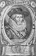Border Prints - James I (1566-1625) Print by Granger