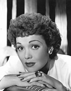 Thin Eyebrows Photos - Jane Wyman, Warner Brothers, 1940s by Everett