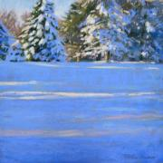 Winter Storm Pastels - January by Jill Stefani Wagner